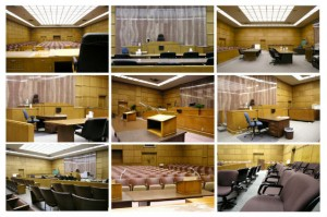 Courtroom collage feature 300x199 Jury Duty for Abuse Survivors