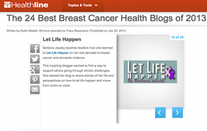 Top blog feature
