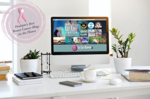 Let Life Happen Named to Top Breast Cancer Blogs, Websites & Influencers in 2021 by Feedspot